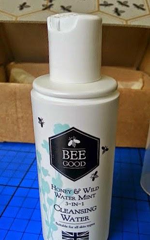 Bee Good Honey & Wild Water Mint 3-in-1 Cleansing Water bottle image