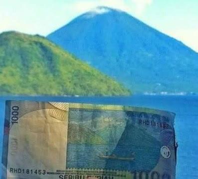 wisata alam di Pulau Maitara dan Tidore maluku