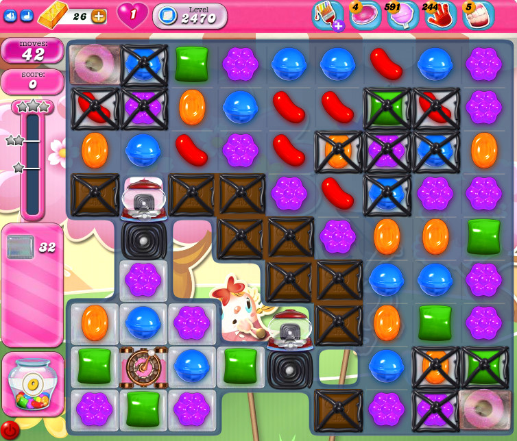 Candy Crush Saga level 2470
