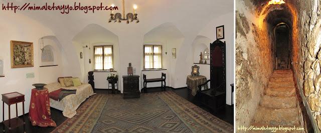 Interior del Castillo de Bran