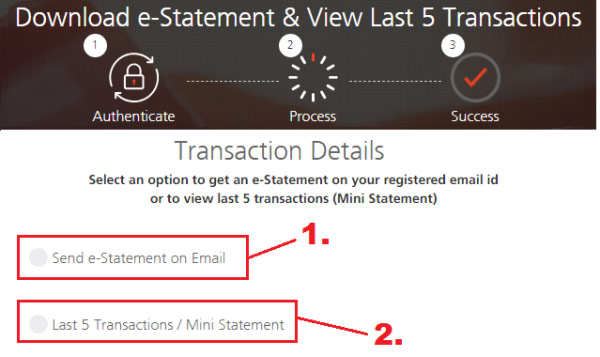 how to check mini statement in kotak mahindra bank online