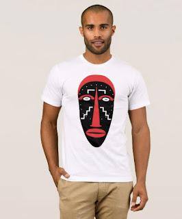 ligbi, mask, african, culture, art, tshirt,
