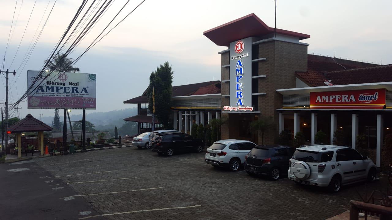 Wn Ampera Puncak Bogor Warung Nasi Ampera Rumah Makan Khas Sunda