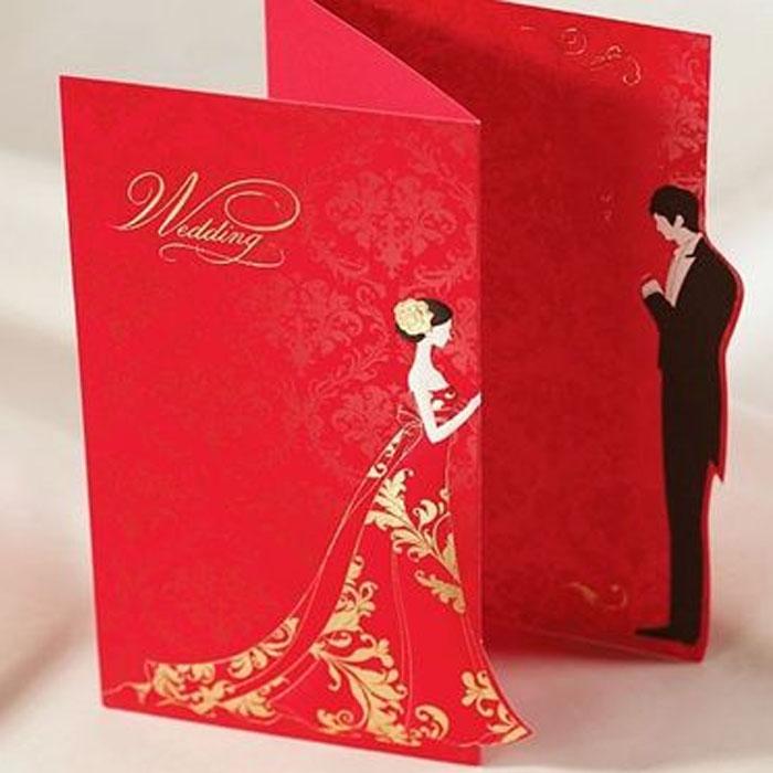 Undangan pernikahan ala korea.