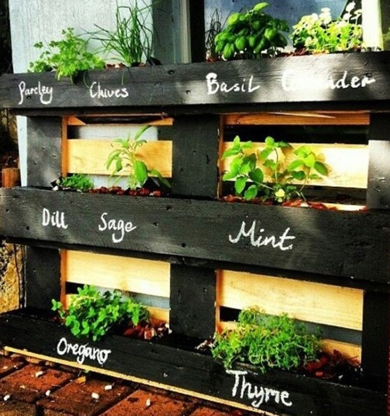 DIY Pallet Garden for You