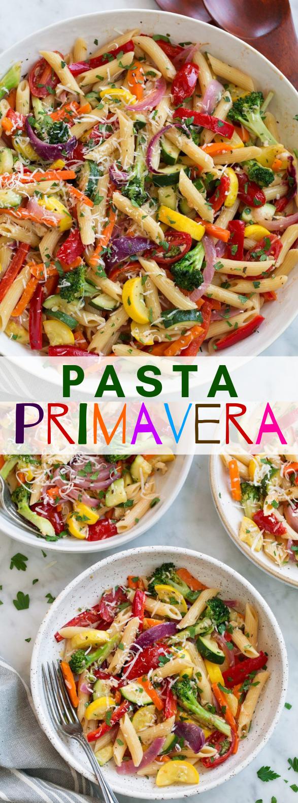 Pasta Primavera #vegetarian #versatile