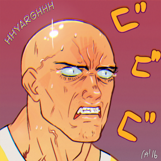 wanpanman opm one punch man comic fanart saitama