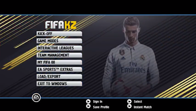 FIFA 08 Ultimate Patch 2018 Season 2017/2018