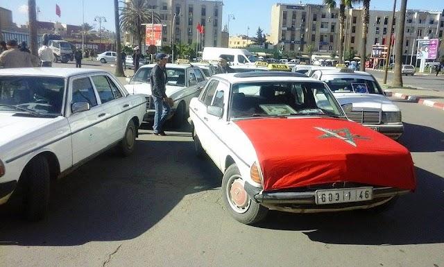 لهذا تعتزم النقابة الوطنية لقطاع سيارة الاجرة تنظيم وقفة احتجاجية ببرشيد