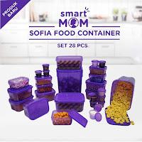 Dusdusan Smart Mom Sofia Food Container Set of 28 ANDHIMIND