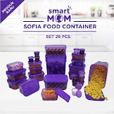 Smart Mom Sofia Food Container Set of 28