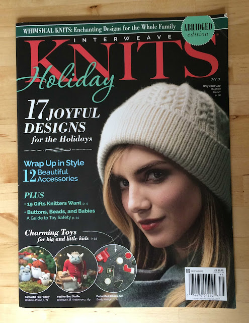 interweave, knits, holiday, magazine, knitting, published, patterns, Christmas, cookies, toys