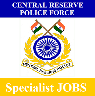 Central Reserve Police Force, CRPF, Specialist, Post Graduation, Force, freejobalert, Sarkari Naukri, Latest Jobs, crpf logo