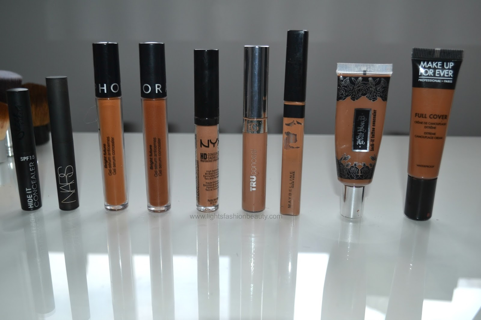 concealer collection, best concealer, concealer for dark skin, best drugstore concealer, best high end concealer, brown beauty blogger
