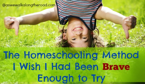 The homeschooling method I wish I were brave enough to try