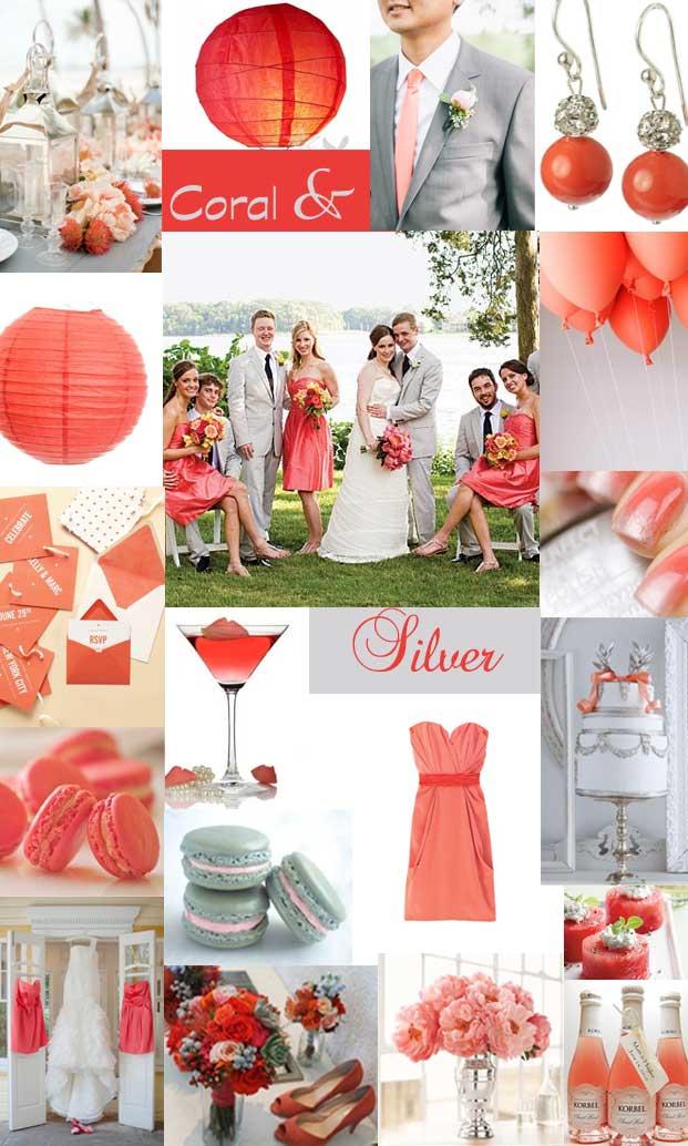 Hochzeitstante  Blog Archiv Farbkonzept Koralle trifft