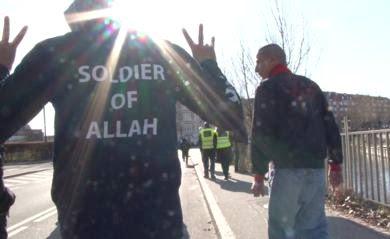 A soldier of Allah in Aarhus