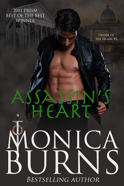 NEW RELEASE with TRAILER ~~ Assassin's Heart by Monica Burns ~~