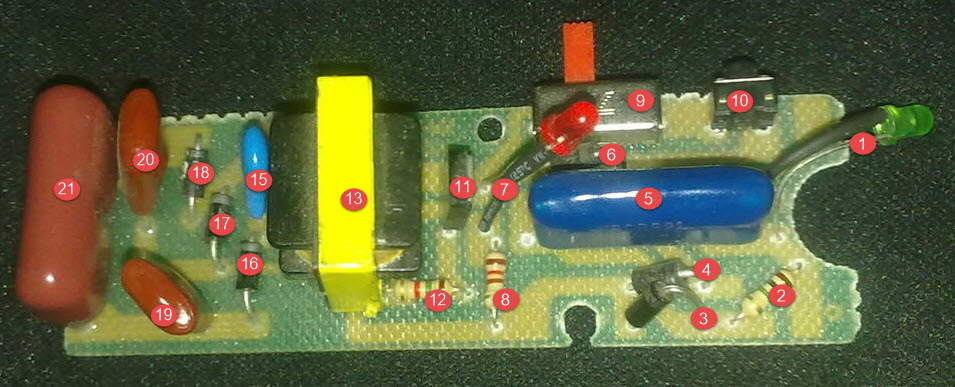 Howtodosteps blogspot on mosquito bug zapper circuit diagram
