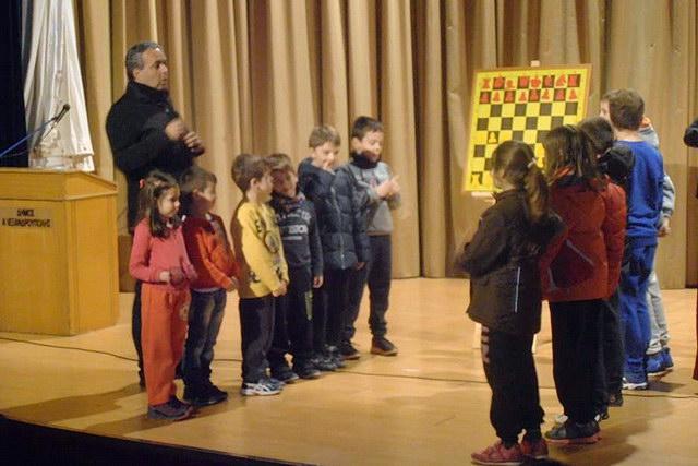 Εκδήλωση του Σκακιστικού τμήματος του Εθνικού Αλεξανδρούπολης