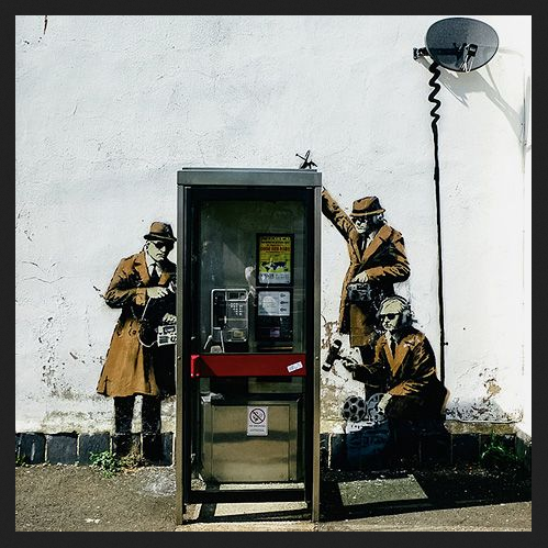 Banksy Wiretappers