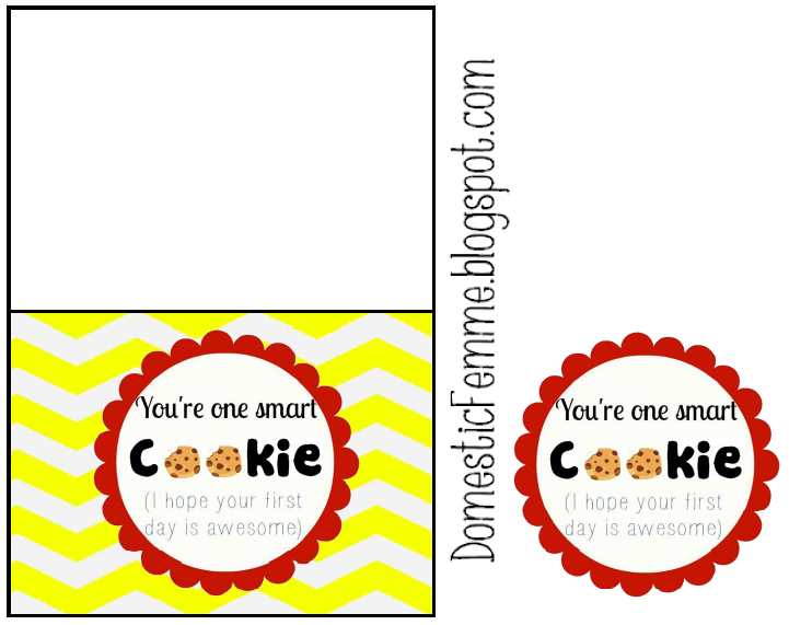 photograph relating to You're One Smart Cookie Printable identified as Yourself Are Just one Wise Cookie