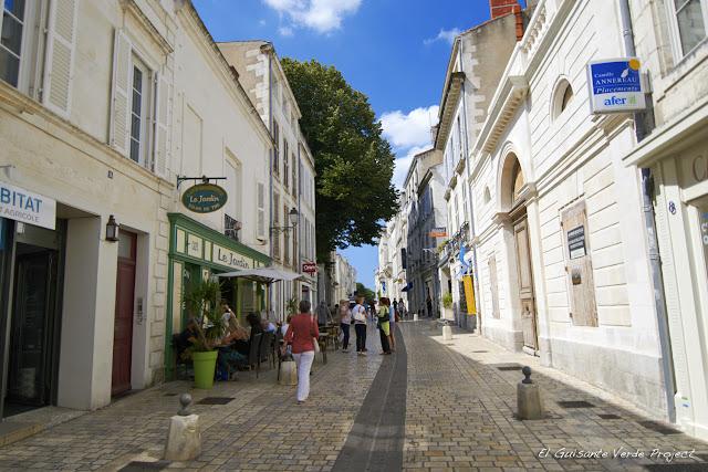 Calles de  La Rochelle por El Guisante Verde Project