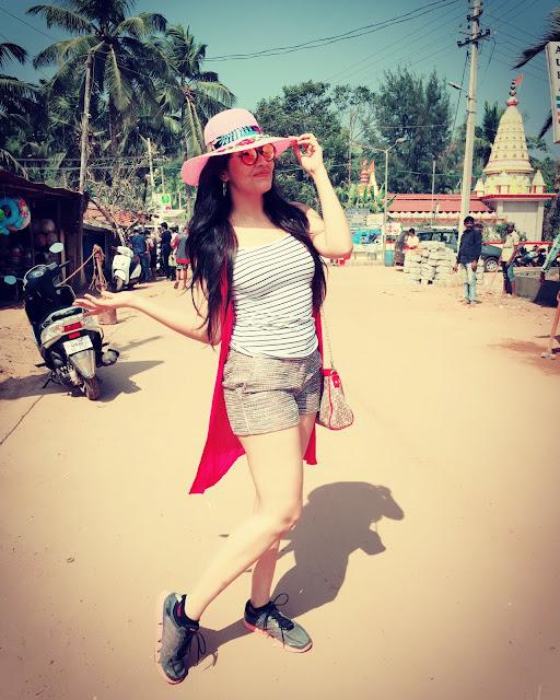 Actress Anasuya Latest Goa Vacation Pic 2016