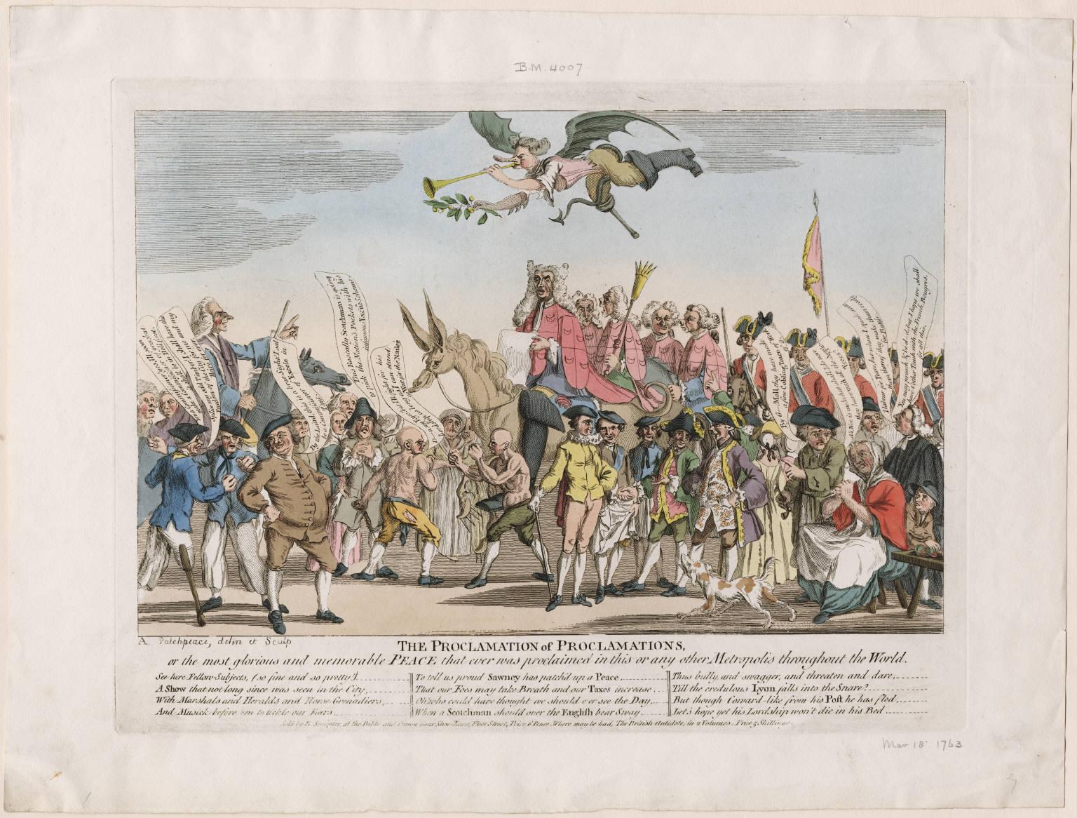 British Tars The Proclamation Of Proclamations