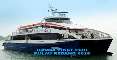Harga Tiket Feri Pulau Redang Terkini 2018