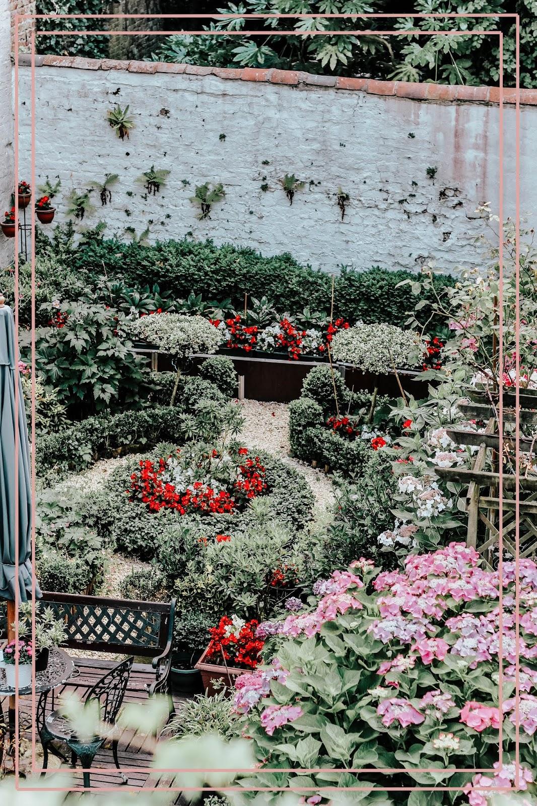 Brugge Belgium Pretty Walled Garden