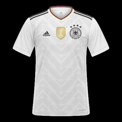 a9b453bb70aeb GT Camisas  Camisas Alemanha 2017   2018 - Home e Away