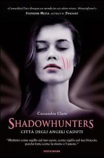 Copertina Shadowhunters Città degli angeli caduti, Cassandra Clare