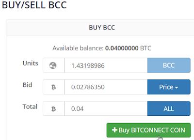 Cara Membeli BitConnect (BCC)