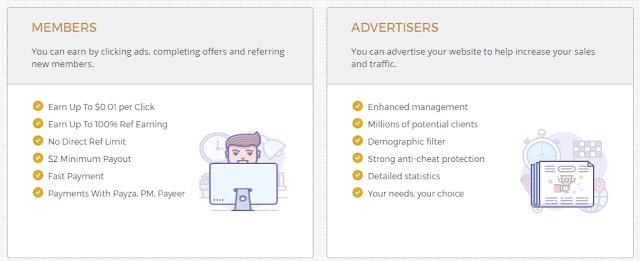 افضل موقع للربح من الاعلانات ، الربح عن طريق الانترنت ، كيف تربح من الانترنت