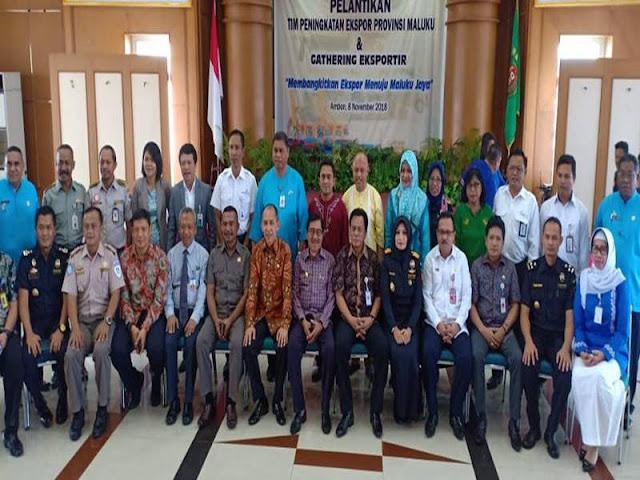 Said Assagaff Latik Tim Peningkatan Ekspor Provinsi Maluku