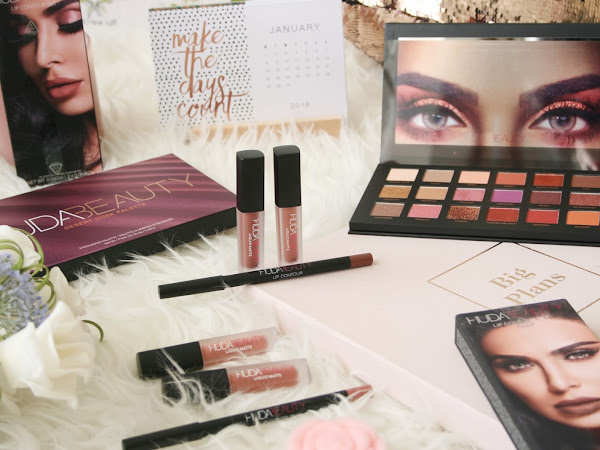Huda Beauty Desert Dusk Palette and Lip Contour Kits Review
