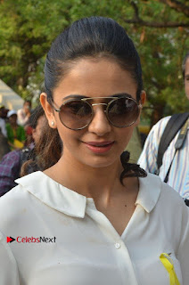 Actress Rakul Preet Singh at Endometriosis Awareness Walk at Apollo Cradle  0005.jpg