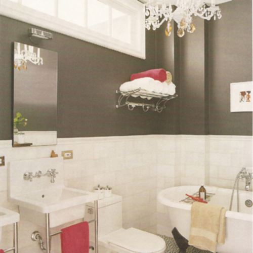 Love Diy Inspirações  Banheiros -> Banheiro Decorado Com Cimento Queimado