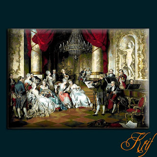 схема вышивки Krif 1492 «Carl Schweninger jr.Concertul»