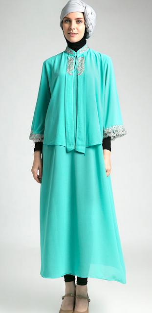 Model Baju Muslim Kaftan Anak Muda Terbaru