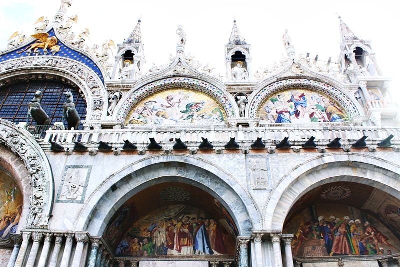 Bazilika Svetog Marka (Basilica San Marco) u Veneciji.