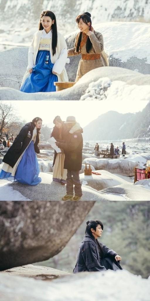 (Bộ bộ kinh tâm) Lee Jun Ki và IU tỏa sáng giữa sân tuyết