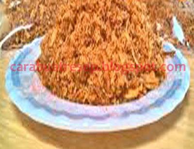 Foto Resep Abon Ayam Suwir Pedas Bawang Sederhana Spesial Asli Enak