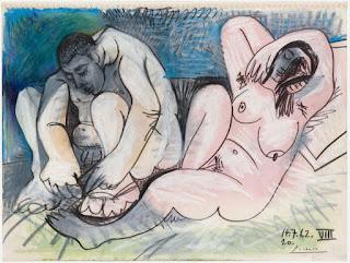 Пабло Пикассо. Любовники. 1962