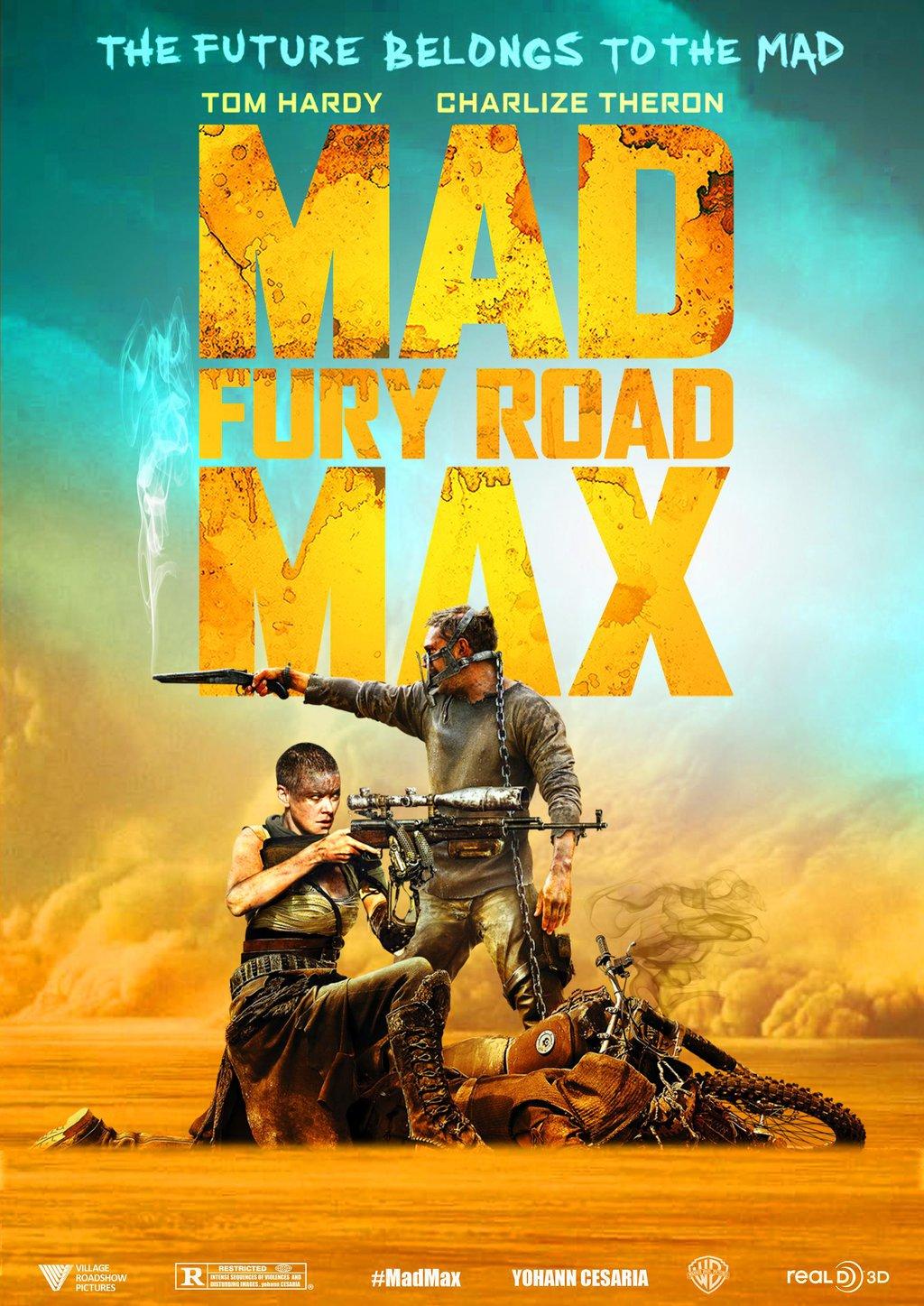 Download Film Mad Max Fury Road 2015 Bluray Subtitle Indonesia