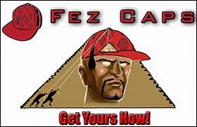 Fez Caps | placing the cap stone on top of your crown