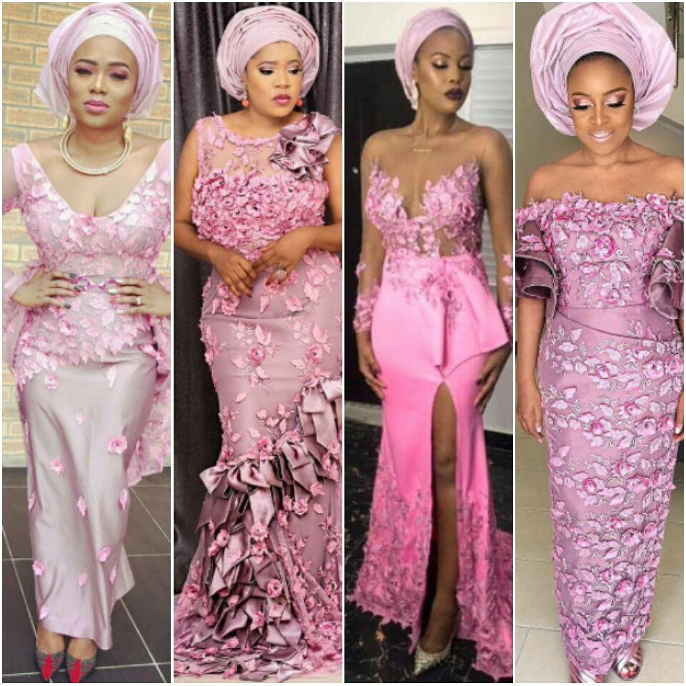 Wedding Digest Nigeria Stylish Sexy And Trendy Aso Ebi Styles That Was Seen At Baad17