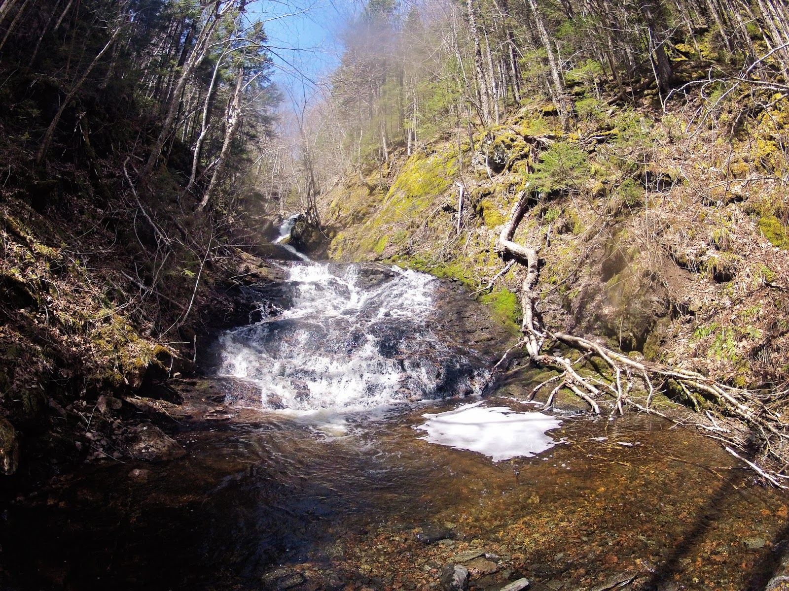 East branch moose river waterfalls nova scotia adventuring this will bring you to a dirt road on the left directly after a bridge on a sharp turn solutioingenieria Images