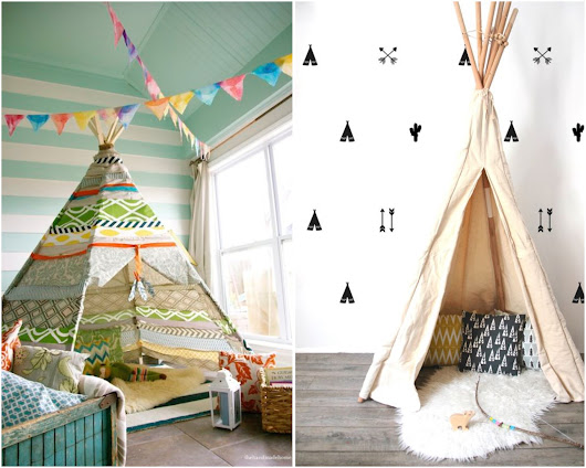 Es Algo Personal: CHILDREN'S ROOM: Tipis